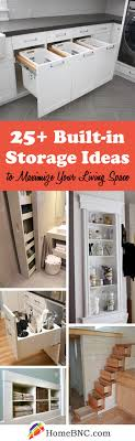 25 essential built in storage ideas for serious space saving