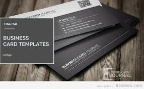 Free Psd Business Card Templates 38 Free Psd Business Card Templates 85ideas Com