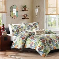 mi zone tamil comforter mini set king bohemian style bedding multi