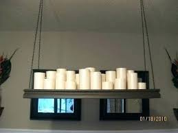 fanciful candle chandelier non electric pillar awesome 30 new will help you get your ikea diy