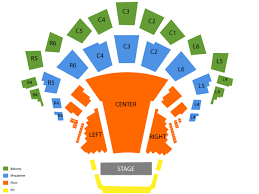 Roy Thomson Hall Seating Chart Detailed Sports Simplyitickets