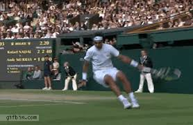 Resultado de imagen de playing tennis cartoon animated gif