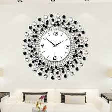 36 modern classic living room diamond decorative wall clock