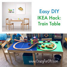 IKEA Hack Train Table