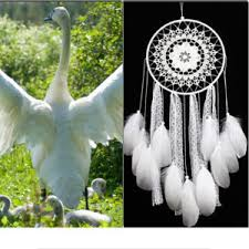 Big Dream Catcher For Sale creative white feather big dream catcher indian lace net Shop 83