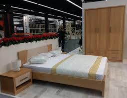 Charming 3 Piece Solid Wood Bedroom Set