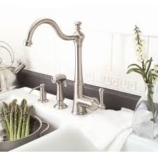 Rohl Kitchen Faucets Reviews Premier Faucet Sonoma One Handle Single Hole Kitchen Faucet With