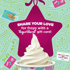 ones with the most delicious gift a yogurtland gift card pick up a gift card in or s goo gl e4kgrv pic twitter mhwdhxjyfn