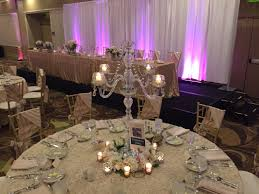 deluxe crystal candelabra beautiful in any room alone or as an additional centerpiece style beautifully detailed with 4 strands of glass and lead crystal