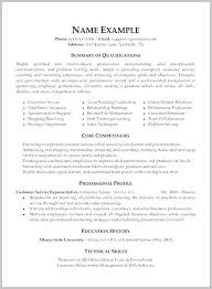 Resume Goal Examples Resume Goals And Objectives Examples Resume