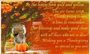 Happy Thanksgiving Wishes for Friends & Family | Happy Thanksgiving
