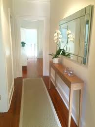 skinny hallway table. Perfect For A Narrow Hallway Skinny Table J