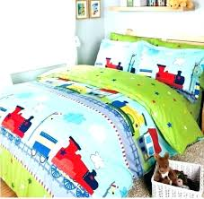 bedding set train bed the tank engine friends 4 toddler thomas twin comforter sheets lovely