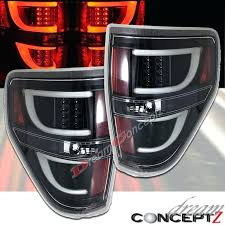 pick up lighting accessories led tail lights for pickup truck clear lens black style pair pick up lighting accessories