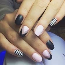 Matte Patterns Nails Unhas Artes De Unhas A Unhas Minimalistas