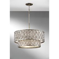 kitchen extraordinary chandelier with shade and crystals 34 epic drum elk lighting retrofit taupe for your
