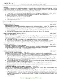 Regular It Sales Manager Resume Sales Manager Resume Sample