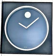 movado wall clock 142 50 pic