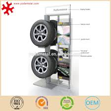 Alloy Wheel Display Stand Heavy Duty Car Tyre Parts Display Rack For Retail Store100s Store 42