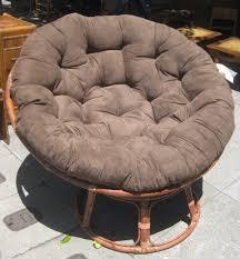 mongolian fur papasan chair