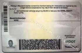 Fake Cards Id-chief Maryland Maker Id Premium