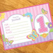 Birthday Invitation Pictures Simple Butterfly Garden 448st Birthday Invitations 48