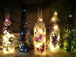 Decorative Wine Bottles With Lights Innovative ways to decorate with String Lights this Diwali 36