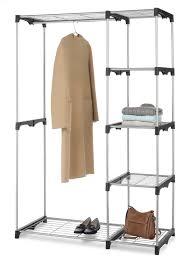 closet organizer cloth hanging and sweater hanging shelf