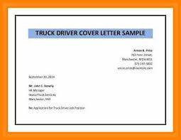 Hazmat Driver Cover Letter Sarahepps Com