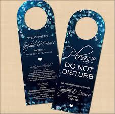 Design Door Hanger Simple Inspiration Design