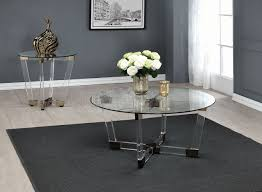 Acrylic Glass Coffee Table 720718 Coffee Table In Clear Acrylic Glass Coaster W Options