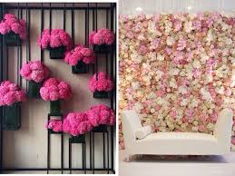 flower walls on tissue paper flowers wall art with 31 best wedding wall decoration ideas everafterguide