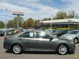 2012 Toyota Camry XLE in Cypress Green Pearl - 161586 | Autos of ...