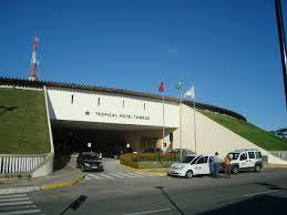 entrada principal do Hotel Tropical Tambaú, João Pessoa