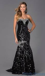 sequined mermaid gown strapless sequin gown