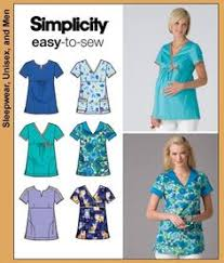 Scrub Patterns Cool PLUS SIZE SCRUBS Sewing Pattern Six Easy Medical Scrub Tops