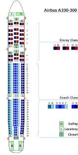 United Airlines Airbus A330 300 Seating Chart