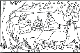 Bible Thanksgiving Coloring Pages M3733 Christian Color Pages