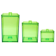 Green Kitchen Canister Set Furniture Green Glass Kitchen Canister Sets For Kitchen
