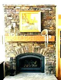 faux rock stone home depot veneer interior siding fireplace painting over