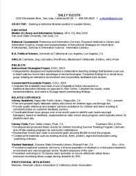 Systems Librarian Cover Letter Open Letters Resume Objective