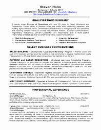 Automotive Service Manager Resume Customer Service Manager Resume Lovely Management Resume Template