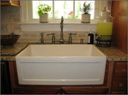 Drop In Farmhouse Kitchen Sink Kitchen Ideas With Farmhouse Sink Sinks And Faucets Home