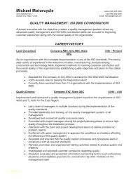 Qa Resume Objective Best of Quality Assurance Resume Sample Sample Resume For Engineer With