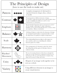 Principles Of Design Handout Split Complementary New And Improved Elements And