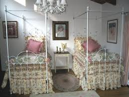 Canopy Iron Bed