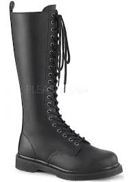 bolt mens knee high combat boots at gothic plus gothic clothing jewelry goth