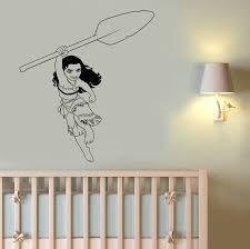 moana wall sticker disney princess