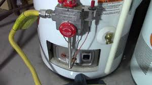 Can You Manually Light A Water Heater How To Relight A Water Heater Pilot Light