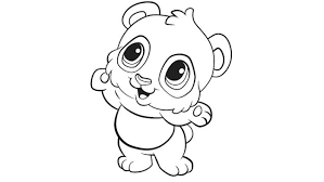 Small Picture Free Printable Panda Bear Coloring Pages Books My Of Bears Home